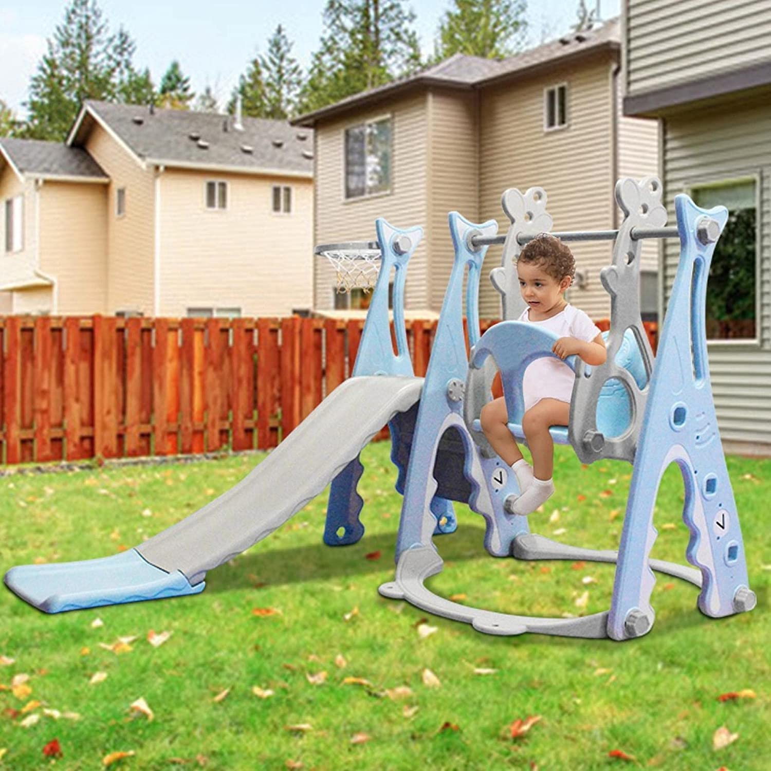 TANGNADE Ship In Quantity limited USA Toddler Slide online shop Sw Set Climber And Swing
