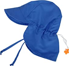 SimpliKids UPF 50+ UV Ray Sun Protection Baby Hat w/Neck Flap & Drawstring
