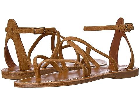 K.Jacques Epicure Velours Sandal
