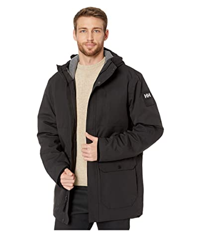 Helly Hansen Urban Long Jacket (Black) Men
