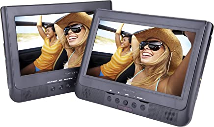 Sylvania SDVD1037 10-Inch Dual Screen DVD Player with USB Card Slot, Remote Control