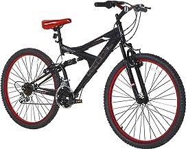 "Vertical Equator 26"" Dual Suspension Mountain Bike Black"