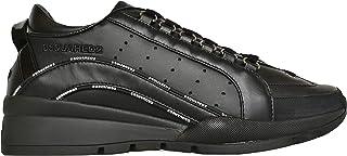 Dsquared Scarpe Uomo Low Top 551 Sneakers in Pelle SNM0122 01503113 M436 Nero