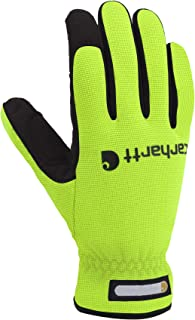 Men's Work Flex Spandex Work Glove with Water Repellant Palm