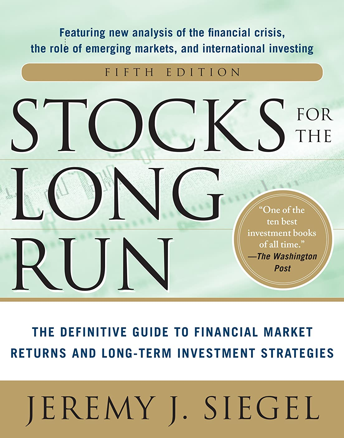 厳しい置換クローンStocks for the Long Run 5/E:  The Definitive Guide to Financial Market Returns & Long-Term Investment Strategies (English Edition)