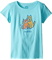 Life is Good Kids - Besties Tee (Little Kids/Big Kids)