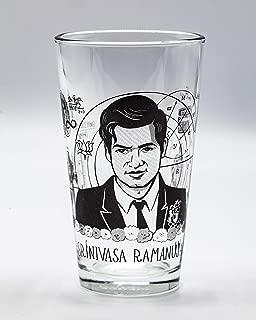 Cognitive Surplus Heroes of Science: Srinivasa Ramanujan Pint Glass