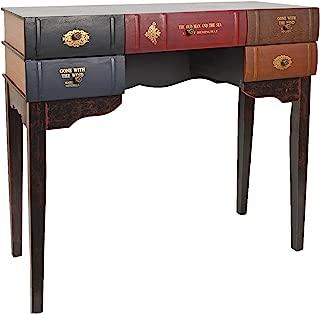 ts-ideen Escritorio mesa de trabajo en forma de libro para