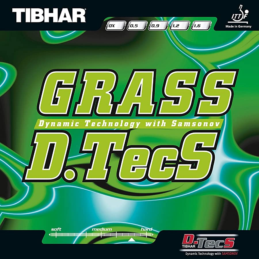 合理化伝導創造ティバー(TIBHAR) 卓球 ラバー グラスディーテックス ハイテンション粒高