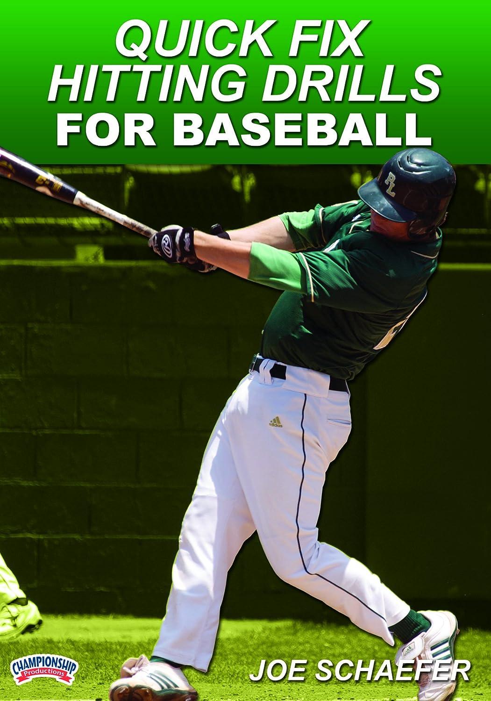 New Regular dealer life Joe Schaefer: Quick Fix Hitting Baseball Drills DVD for