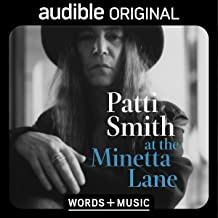 Patti Smith at the Minetta Lane: Words and Music