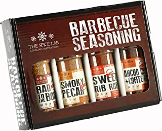 The Spice Lab BBQ Barbecue Spices and Seasonings Set - Ultimate Grilling Accessories Set - Perfect Gift Kit for Barbecues,...