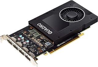 Nvidia Quadro P2000 - Tarjeta de video de altura completa (5 GB, GDDR5 128 bits, PCI Express 3.0 x16 (reacondicionada)