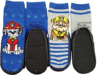 Slippers boy socks Anti-skid license with Abs: Star wars, Paw Patrol, Minions Assortments models photos according to arrivals