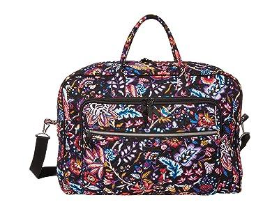 Vera Bradley Iconic Grand Weekender Travel Bag (Foxwood) Weekender/Overnight Luggage