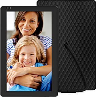 Nixplay Seed 10.1 Inch Digital Wi-Fi Photo Frame W10B Black - Digital Picture Frame with IPS Display and 10GB Online Storage, Display and Share Photos with Friends via Nixplay Mobile App