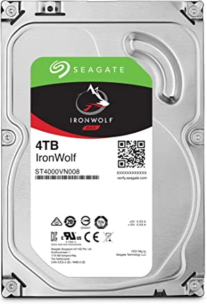 $99 Get Seagate IronWolf 4TB NAS Internal Hard Drive HDD – 3.5 Inch SATA 6Gb/s 5900 RPM 64MB Cache for RAID Network Attached Storage (ST4000VN008)