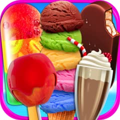 Do you love Ice Cream, Popsicles, Ice Lollies, Snow Cones, Candy Apples, Dipped Cones, Ice Cream Bars, Milkshakes, Ice Cream Sandwiches, Candy Apples and Ice Cream Cookies? Gorgeous and Realistic Graphics with 8 Kinds of Treats and Desserts! Choose I...
