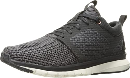 Reebok Wohommes Print ATHLUX Weave Track chaussures, Coal Asteroid dust blanc noir Rose or, 9 M US