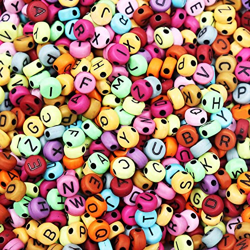 50g x assortiment coloré en forme de perles en acrylique