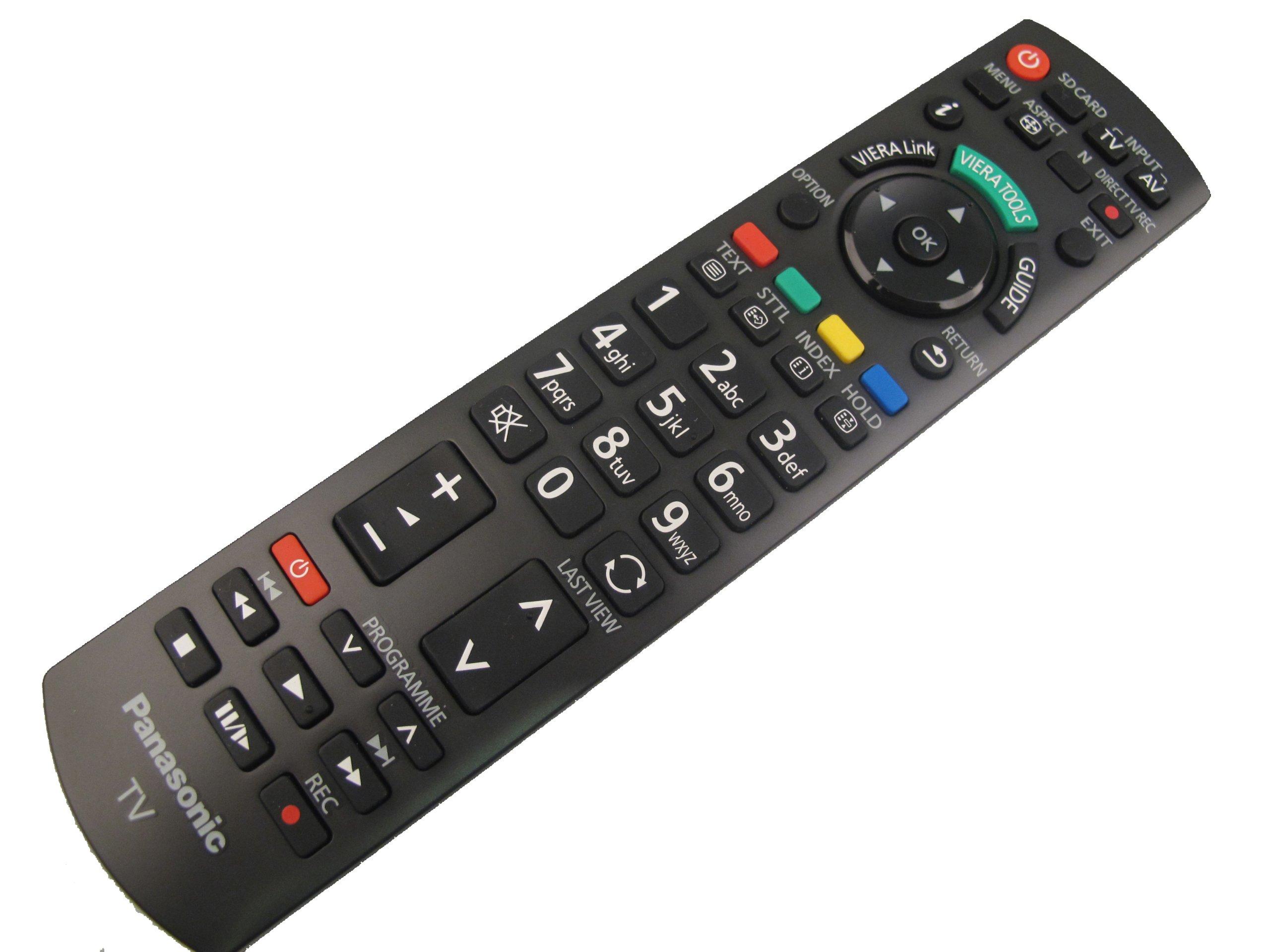 Panasonic N2QAYB000487 - Mando a distancia para televisores plasma y LCD: Amazon.es: Electrónica