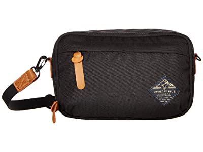 United By Blue Pass Crossbody (Black) Cross Body Handbags