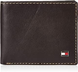 Tommy Hilfiger Men's Leather Logan Double Billfold Wallet