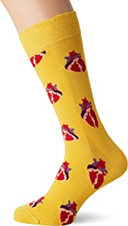 Happy Socks Men's True Love Sock, Multicoloured, 41-46
