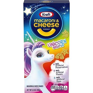 Kraft Macaroni & Cheese Unicorn Shapes Dinner (5.5 oz Box)