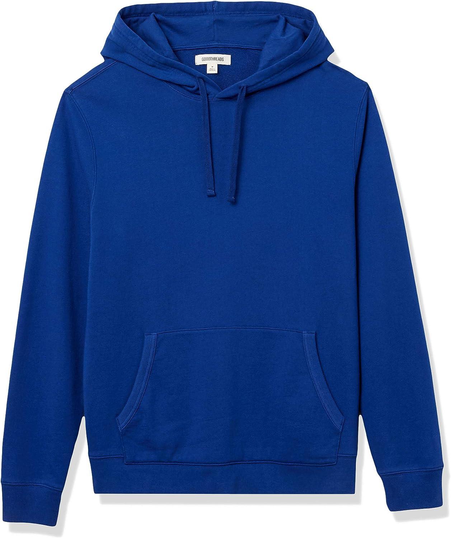 Amazon Brand - Goodthreads Men's Lightweight French Terry Pullover Hoodie Sweatshirt