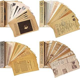 240 Pièces Papiers de Scrapbooking Vintage Papier Matériel Scrapbooking Journalisation Vintage Lettre Décorative Collectio...