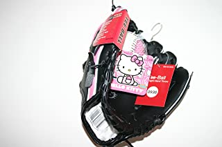 Hello Kitty Tee Ball Glove with Soft Training Baseball