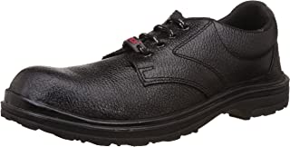 Aktion Safety Leather Shoes Safer SA-99 - Size 8, Black