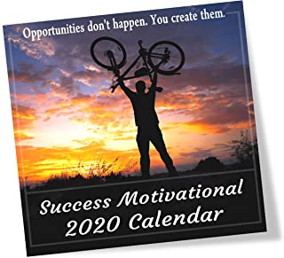2020 Success Motivational Wall Calendar, Powerful Inspirational Quotes for Success in Life and Business, Large 12 x 12 Inch Full Color Photos