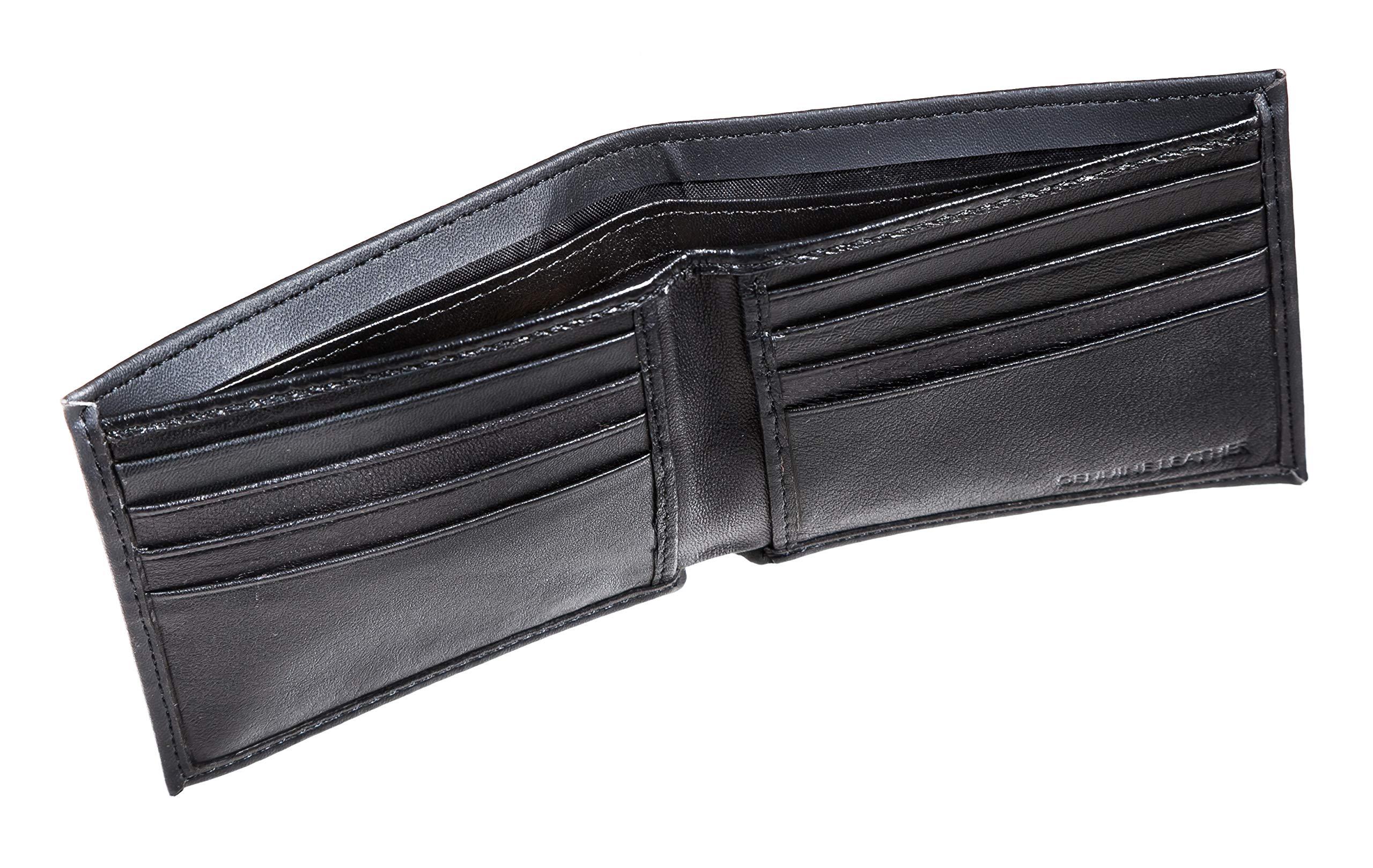 Team Sports America Leather San Francisco 49ers Bi-fold Wallet