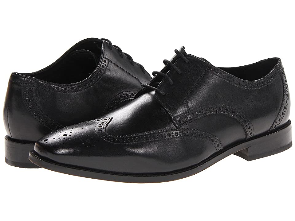 Florsheim Castellano Wingtip Oxford (Black) Men