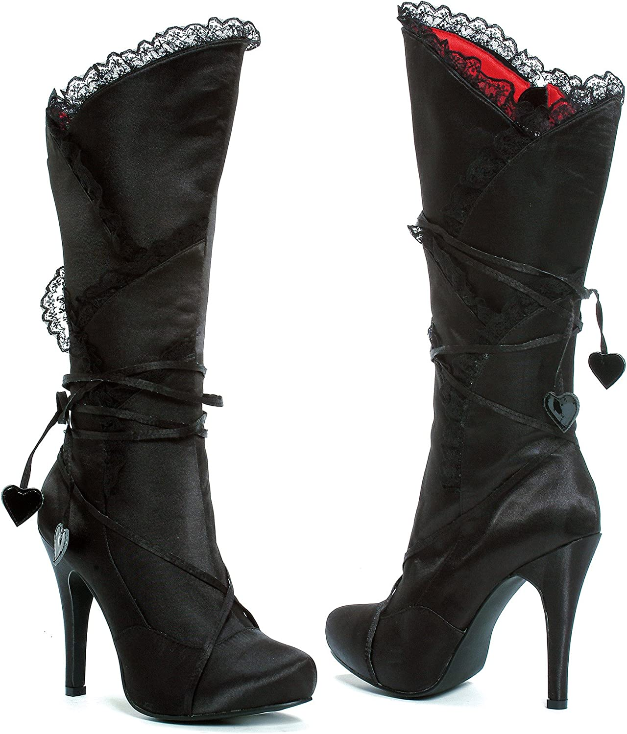 Ellie 400-GOTHIKA 4  Satin Knee High Boot Women