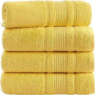 Best bath towel yellow Reviews