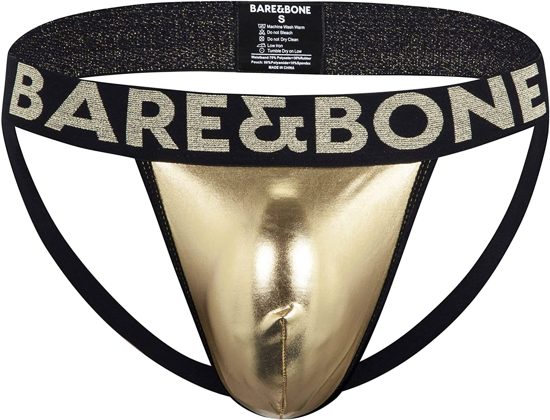 Bare&Bone Mens Gold Jockstrap