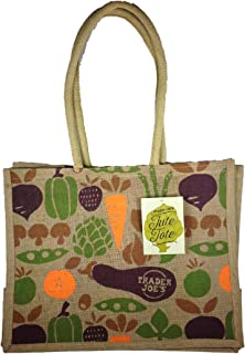 Trader Joe's 100% Jute and Cotton Tote Bag