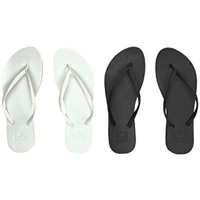Reef Escape 2-Pair Variety Pack (Black & White) Women