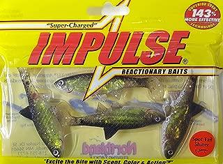 Northland Tackle IBLPM3-11 Impulse Live Paddle Minnow 4/Bag Bait, Sptailshn, 3