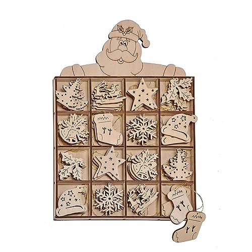 8d891cbec74 Doko-colgante-Set de madera - árbol de Navidad de