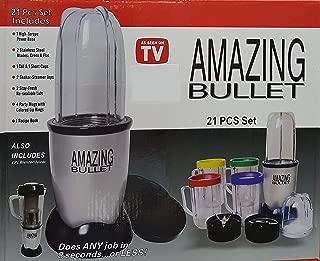 Magic Bullet Deluxe 25 pc Set Blender Mixer [21 pc set with a 4 pc bonus]