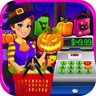 Supermarket Halloween Simulator - Kids Grocery Store & Cash Register Games FREE