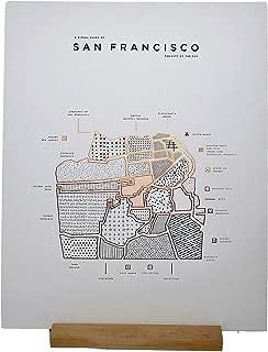 ROAM by 42 Pressed San Francisco Map Print