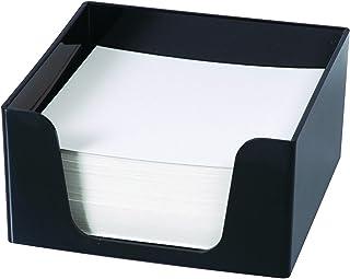 ESSELTE 45894 SWS Memo Cube W/500 Sheets Black