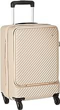 [ハント] スーツケース等 マイン ストッパー付き ジッパータイプ 48cm 33L 機内持込みサイズ フロントオープンタイプ 05744 機内持ち込み可 34L 48 cm 3.3kg