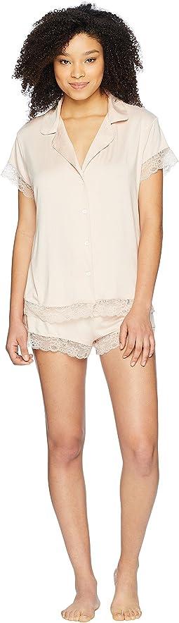 Malou The Lace Short PJ Set