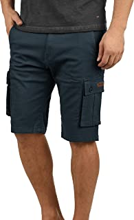 Solid Laurus Men's Cargo Shorts Bermuda Shorts 100% Cotton Regular Fit